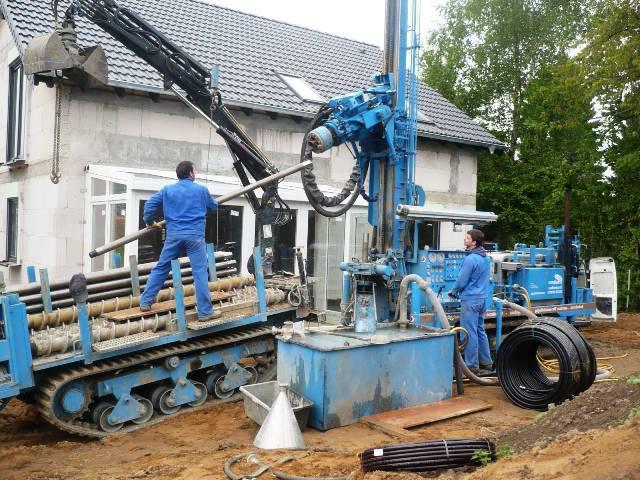 Технология бурения скважин на воду буровой установкой