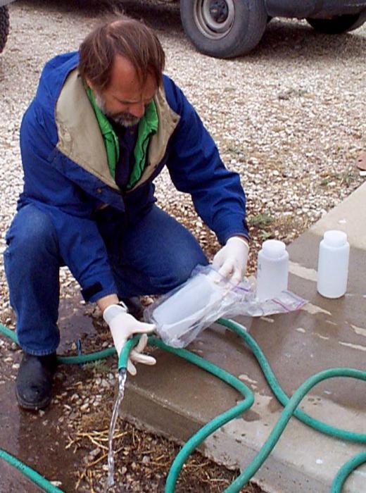 Синтетический анализ воды из скважины