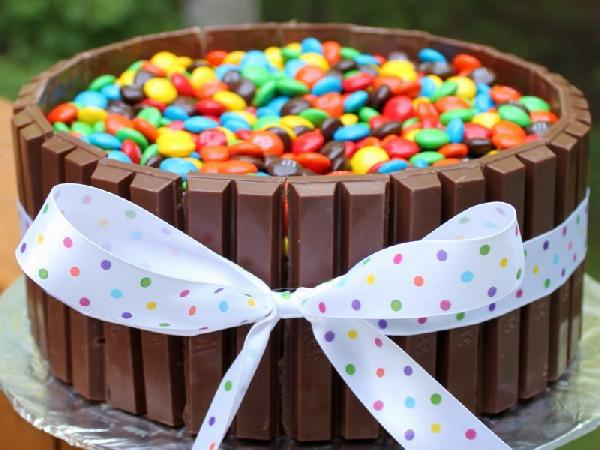 Торты из конфет сделанные своими руками