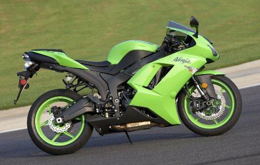мотоцикл кавасаки ниндзя 600