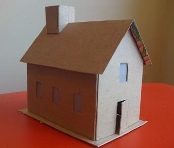 макеты деревянных домов своими руками