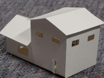 макет дома своими руками