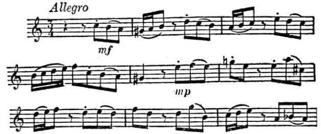 музыкальный термин аллегро