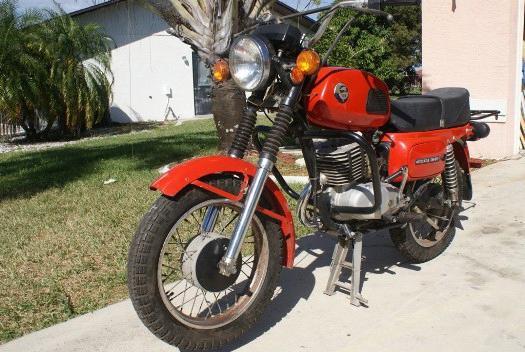 восход мотоцикл фото