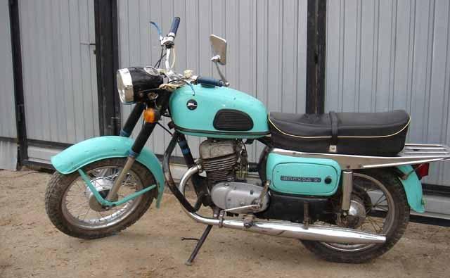 мотоцикл восход характеристики