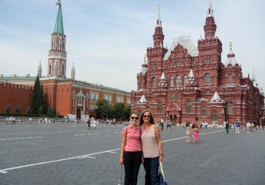 сильное впечатление от московского кремля и красной площади