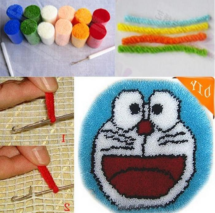 Вышивка в ковровой технике схемы