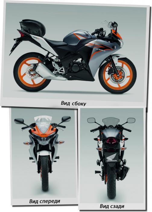 Honda CBR 100 20 5 R — мощная и элегантная вещичка