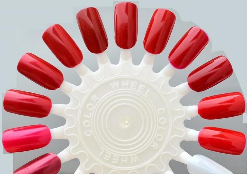 Palette red