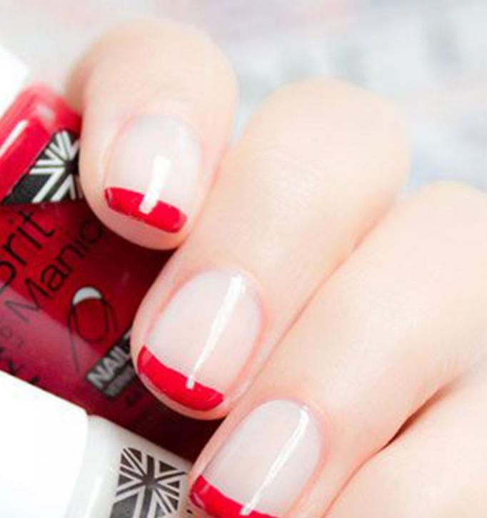 French with red varnish