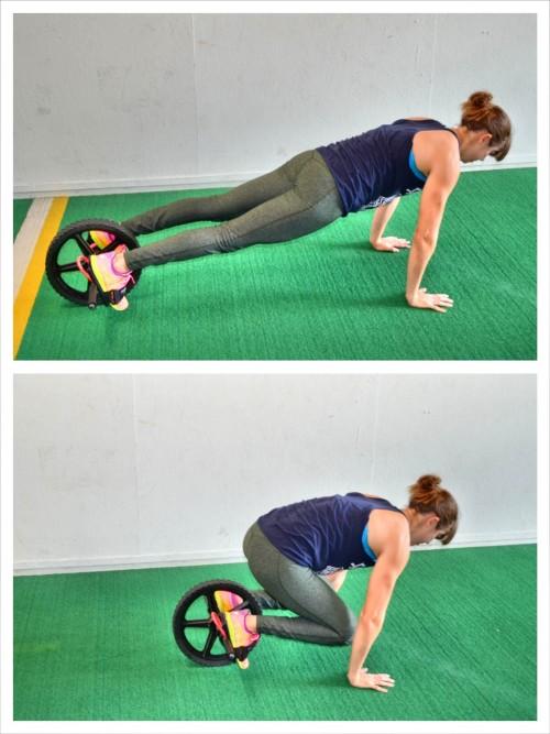 фитнес ролик