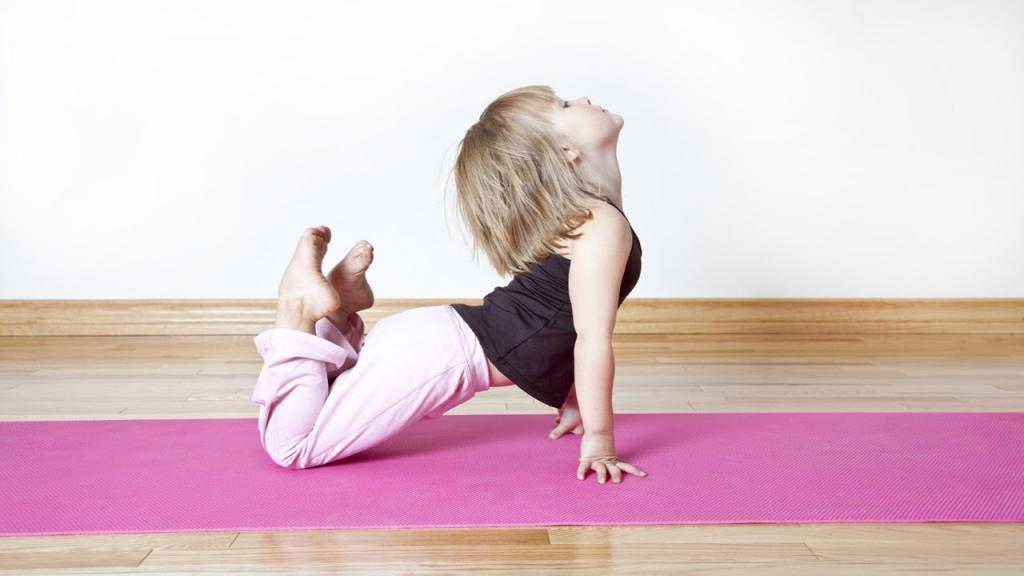 упражнение кошечка для детей