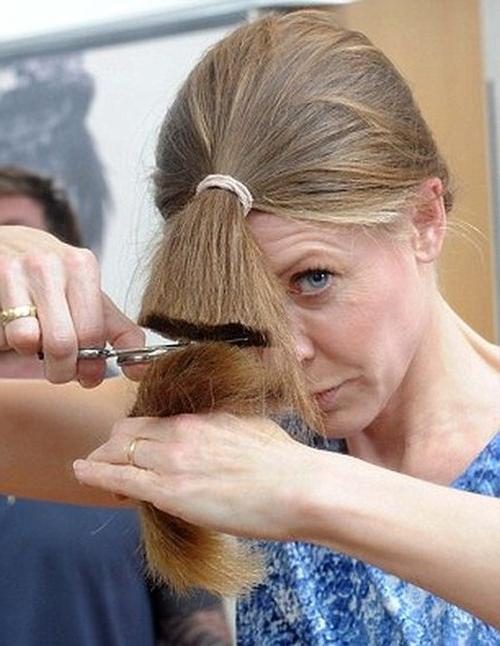 Можно ли себе стричь волосы на голове