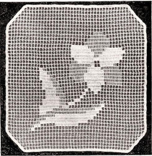 Заполнить клетки филейное вязание