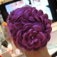 как сделать розу из волос