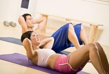 домашние упражнения для похудения живота