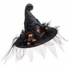 как делать шляпу ведьмы
