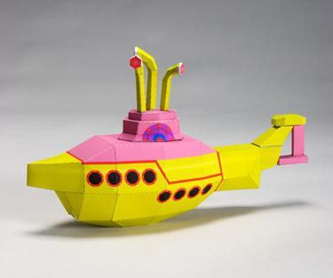 как из бумаги сделать подводную лодку