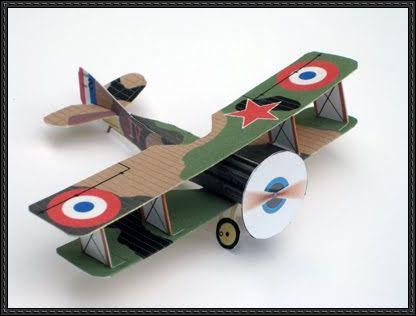 Как сделать модель самолет 40