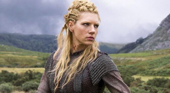 прически викингов женские