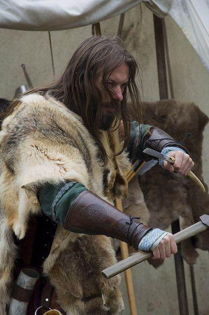 прически викингов мужские