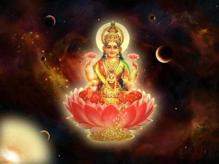 Лакшми: богиня гармонии и процветания
