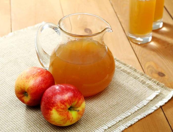 как делается сидр в домашних условиях из яблок