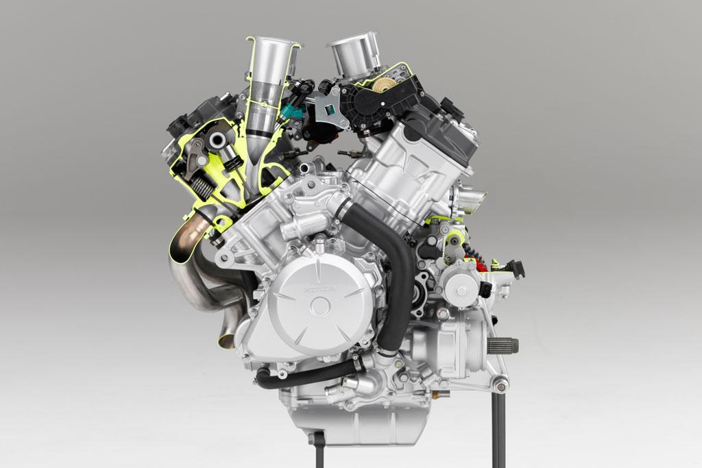 Вид двигателя
