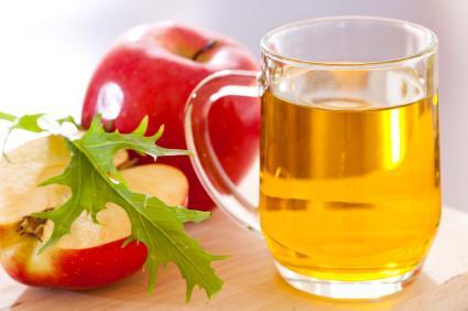 пила яблочный уксус похудела