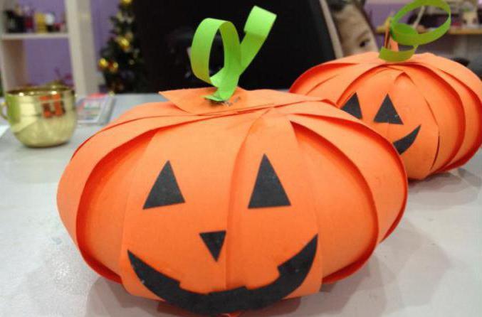 Как сделать тыкву на хэллоуин своими руками тыкву из бумаги