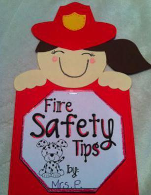 детские поделки по пожарной безопасности