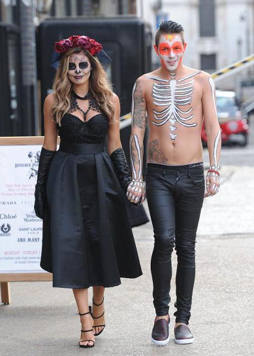 образ ведьмы и невесты на хэллоуин