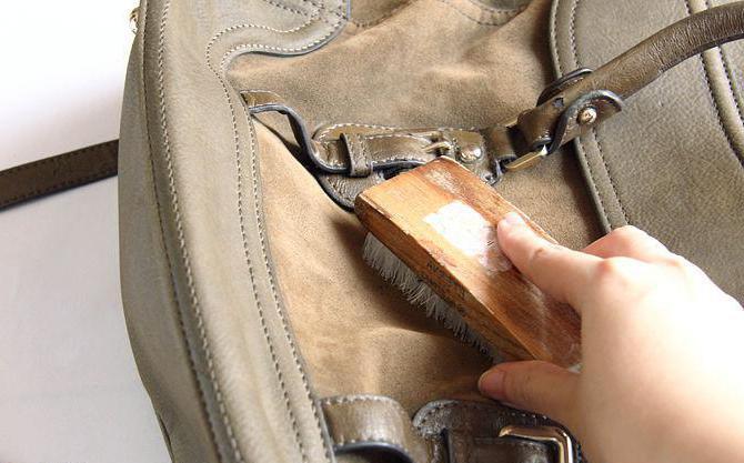 Как почистить светлую замшу на обуви