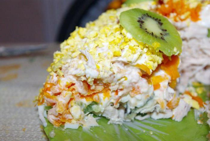 вкусные салаты с киви