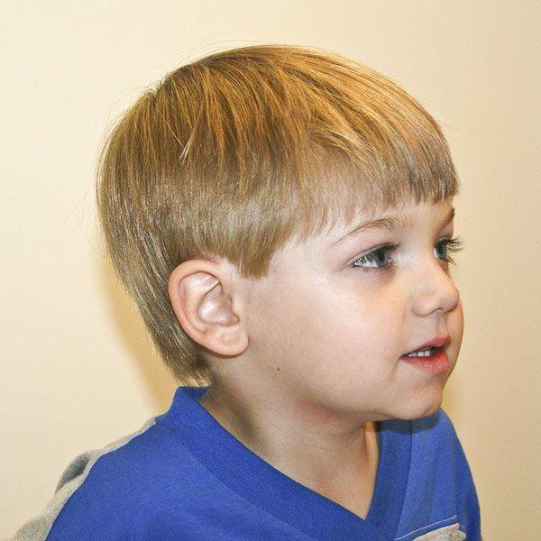 Как сделать модельную стрижку мальчику