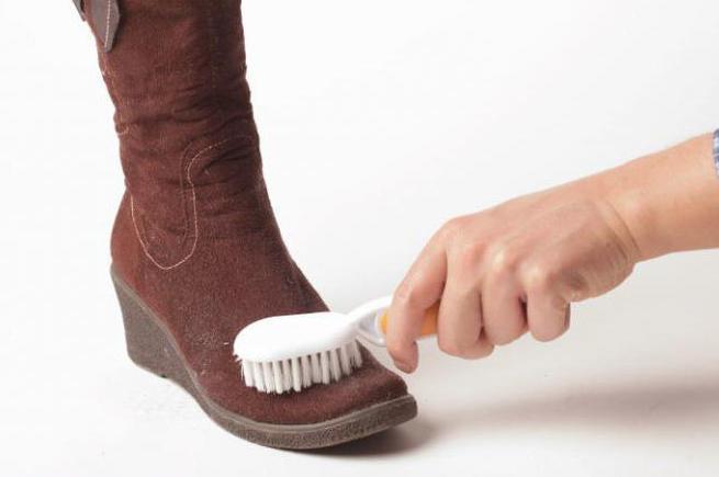 Замша обувь чистка в домашних условиях