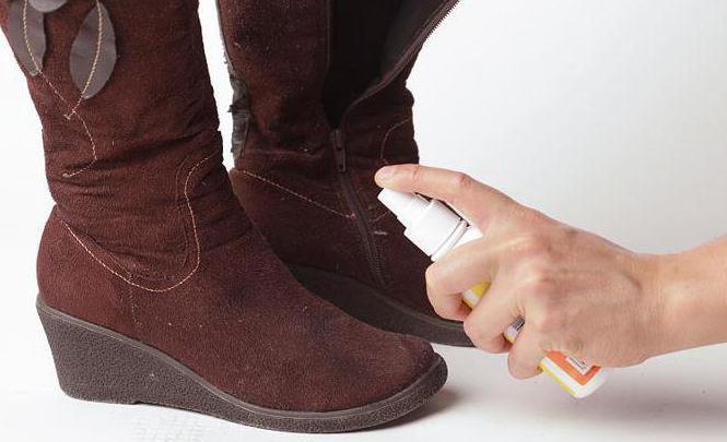 Уход за замшевую обувь в домашних условиях