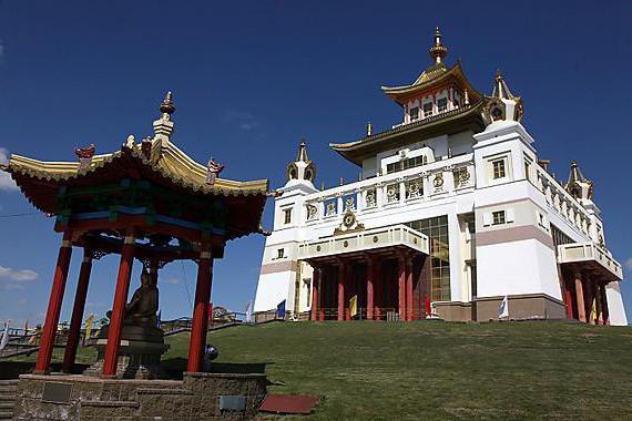 буддийский храм в элисте как проехать