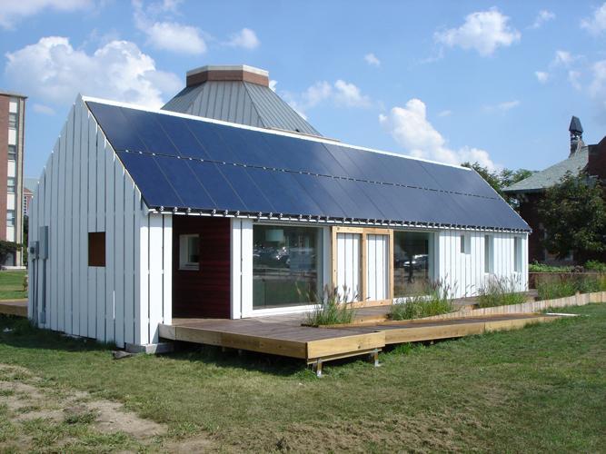 Практичные готовые дома из пеноблоков
