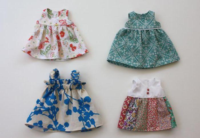 Как сделать кукле платье фото 250