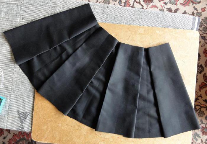 Как сшить юбку в складку с резинкой 365