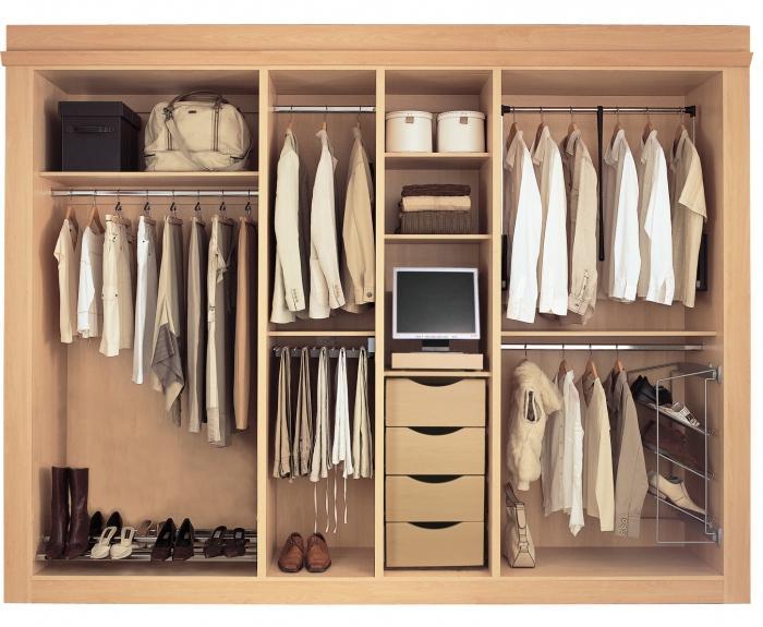 встраиваемый шкаф
