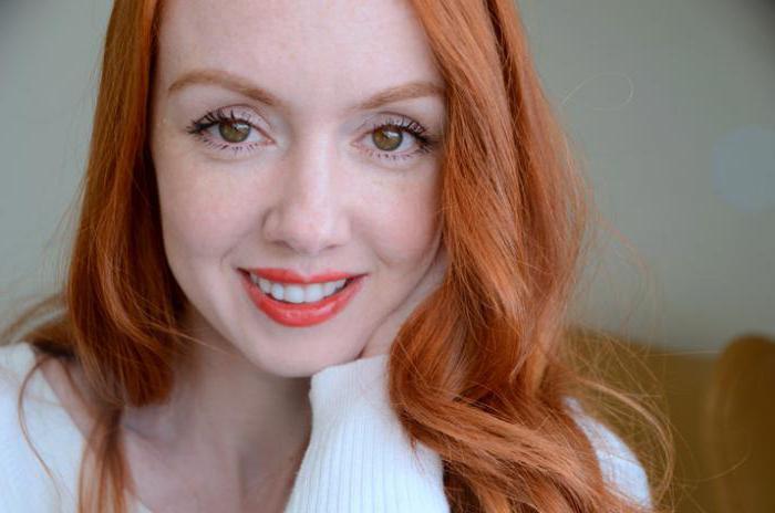 Карие глаза и рыжие волосы: фото, оттенки и разновидности данной палитры