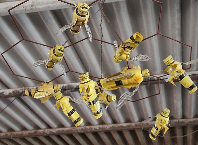 Крылья для пчелки своими руками