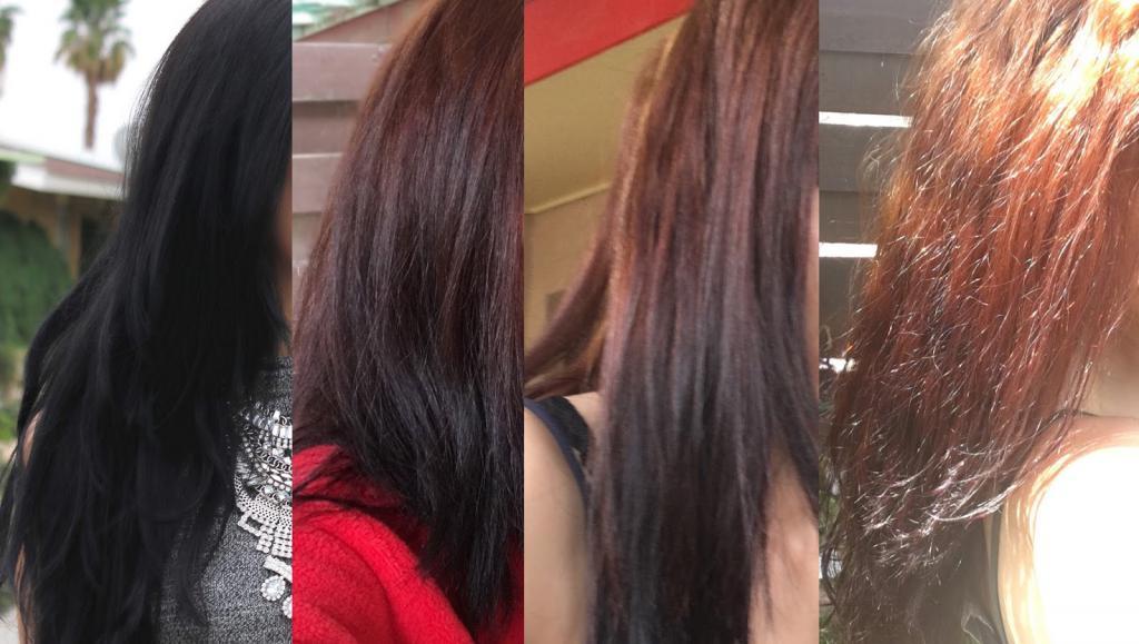 Вывести черный цвет волос без вреда