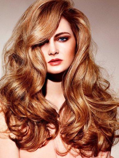 Медный цвет волос: 26 фото темных и светлых оттенков