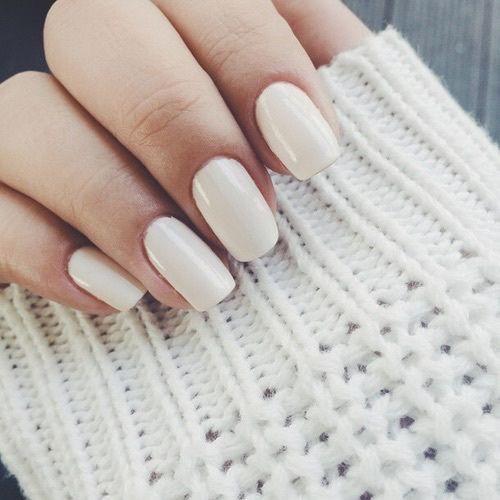 classic cream manicure