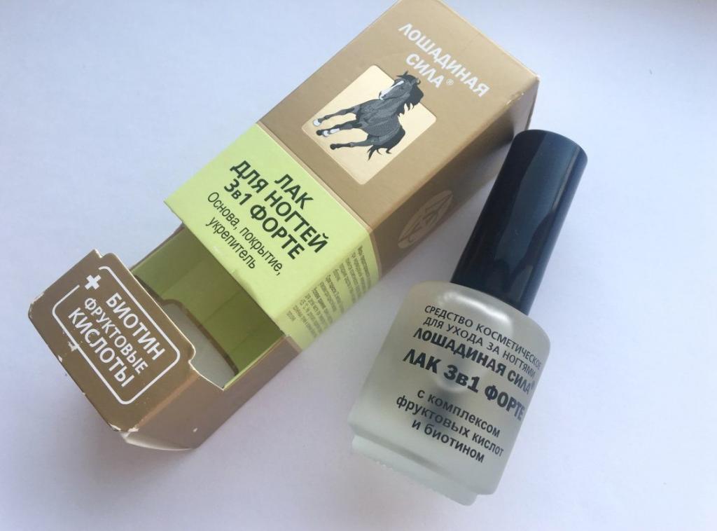 """Лак для ногтей """"Лошадиная сила"""": инструкция, состав и отзывы"""