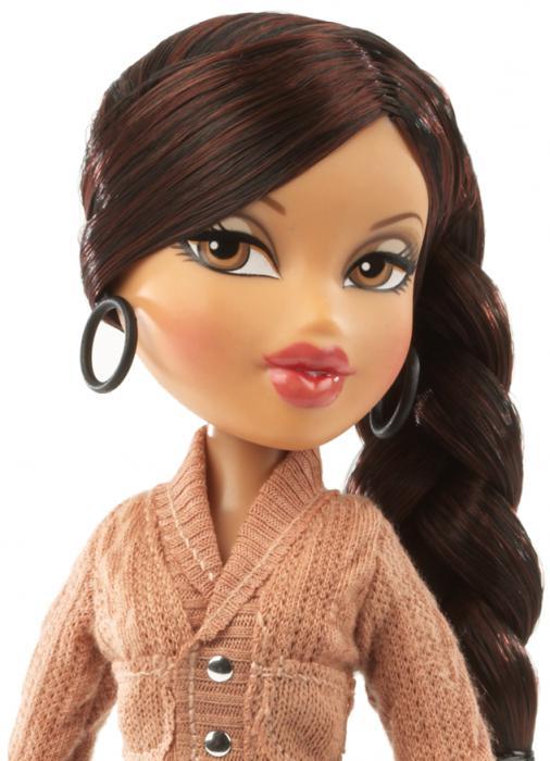 Как сделать кукле волосы 17