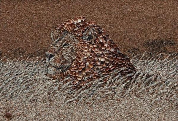 Картины из песка своими руками мастер класс фото 645